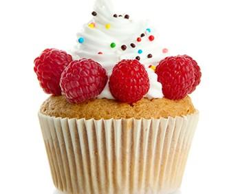 Ahududu Cupcake