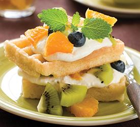 Kivili waffle